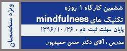 ششمین دوره آشنایی با تکنیک های ذهن آگاهی Mindfulness